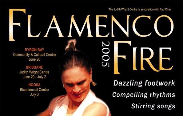 Flamenco Fire 2005 flyer