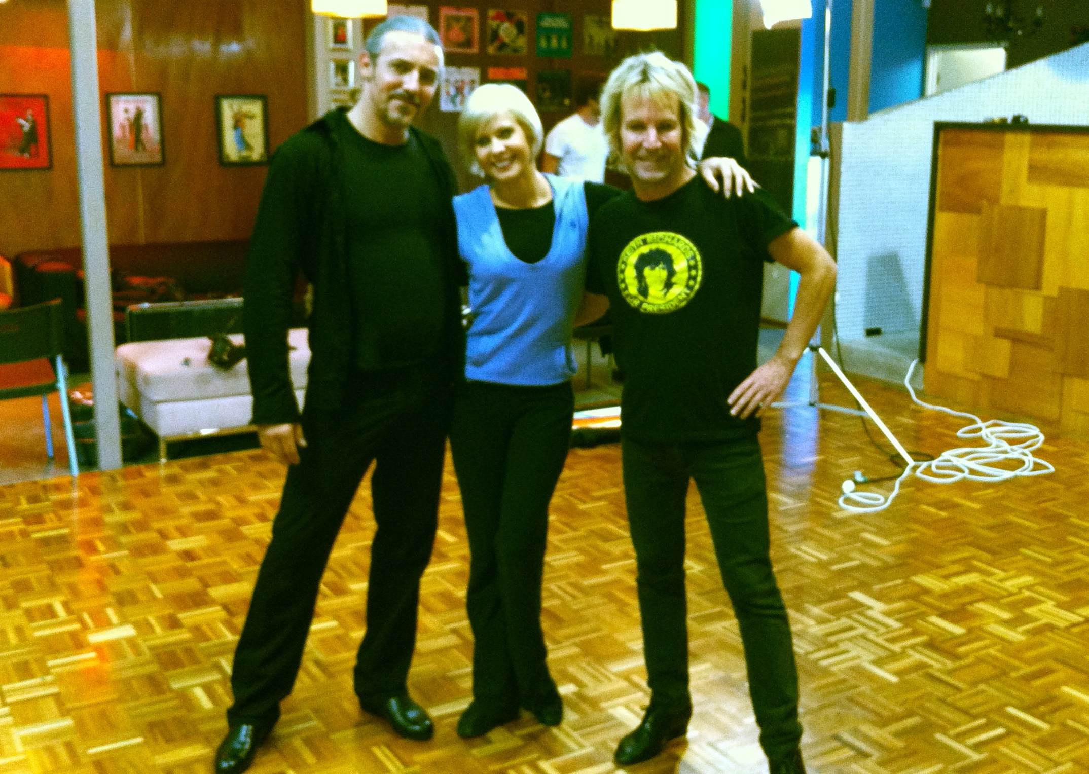 Paso doble lesson for Brian Manix on Dancing with the stars
