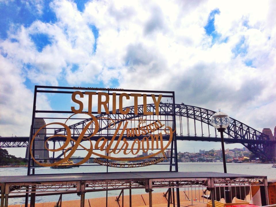 Media Launch for Strictly Ballroom Sydney Australia 2014