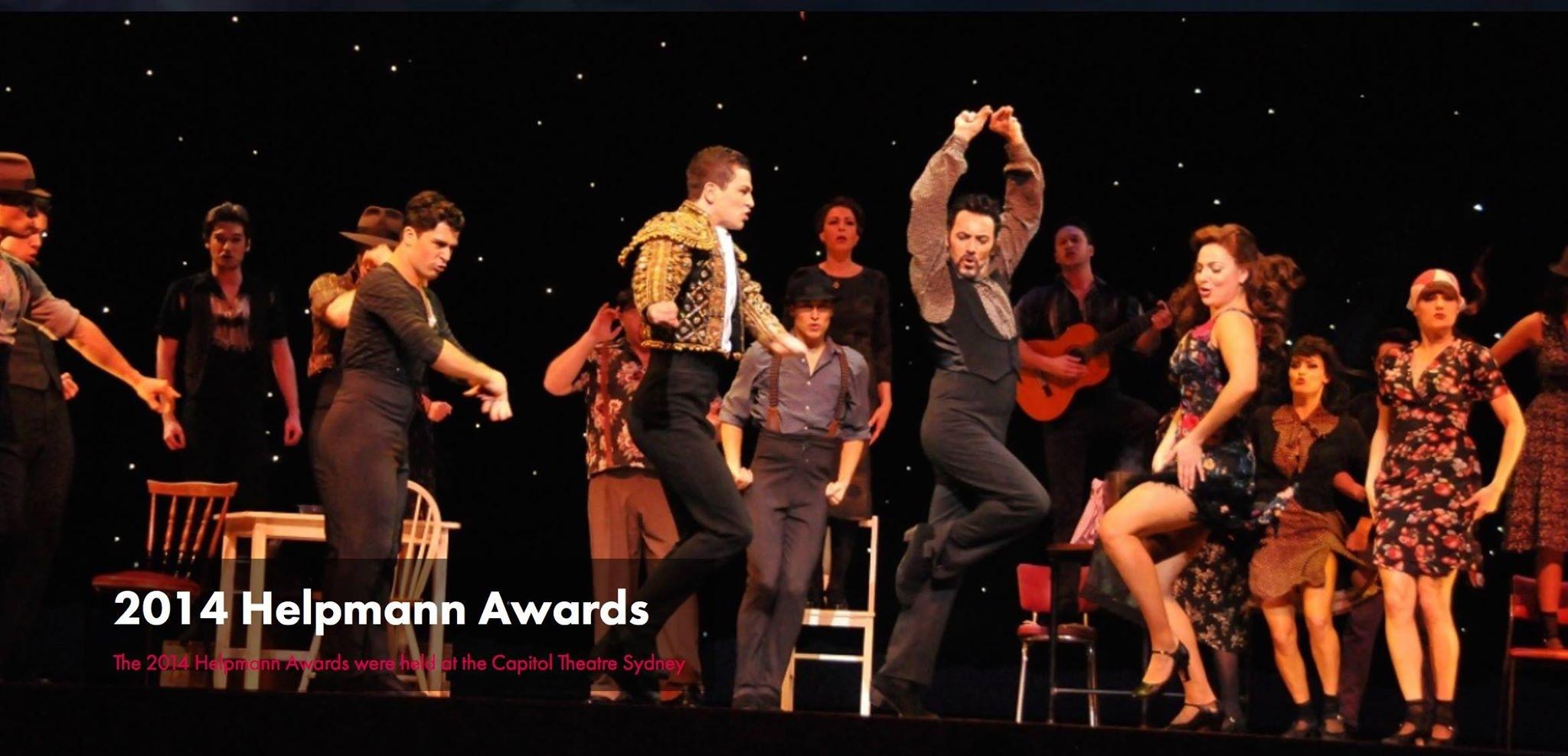 Strictly Ballroom Helpmann awards performance Sydney Australia 2014