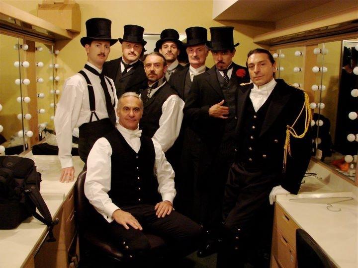 Opera Australia's Otello backstage 2008