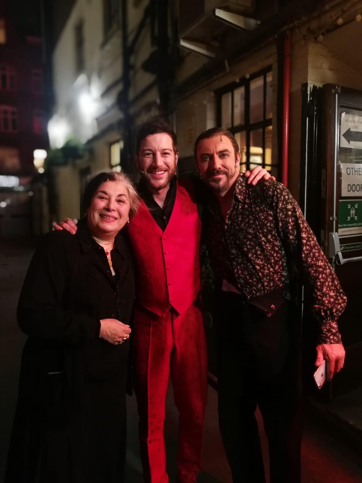 Piccadilly intermission with Eve Polycarpou and Matt Carle