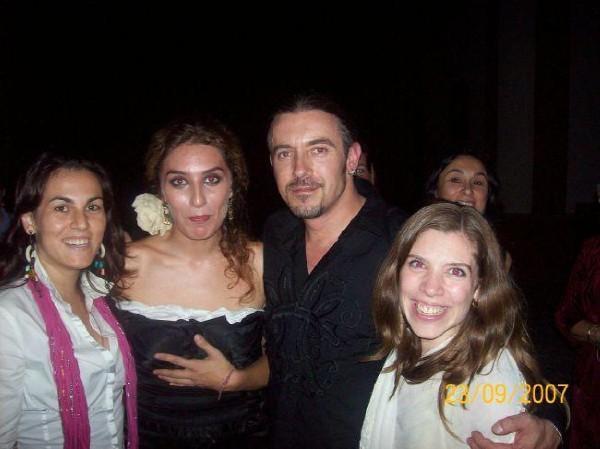 Unbelievable night watching Estrella Morente Sing to us in Sevilla Spain 2007