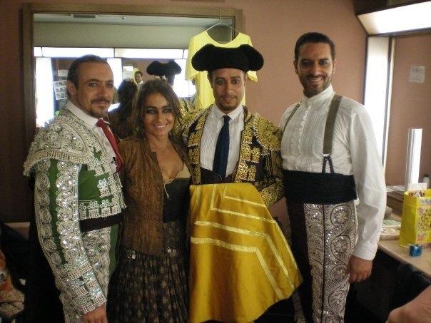 Fernando Mira, Laura Uhe, Tomas Diets & Scott Norton 2009