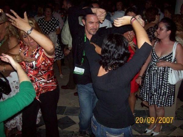 Flamenco party at the palace of _Pontius Pilate_ Sevilla Spain 2007