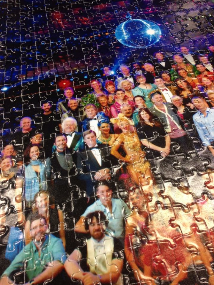Strictly Ballroom jigsaw puzzle_