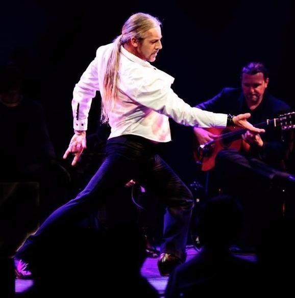Flamenco Areti show with Kieren Rey on guitar
