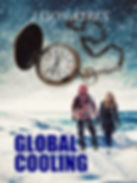 Book cover of time travel novel, Global Cooling