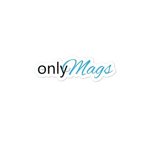 ONLY MAGS Bubble-free stickers