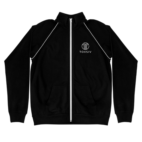 toxsiv Piped Fleece Jacket