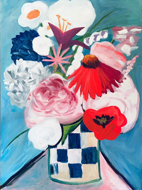 The Bouquet Painting