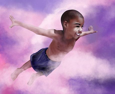 Black Boy Fly