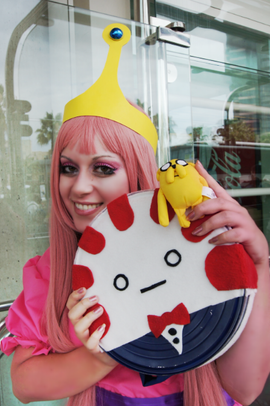 Adventure Time - Princess Bubblegum Cosplay