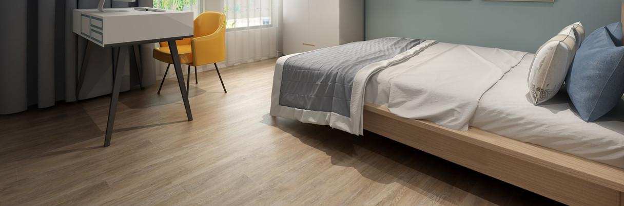 SPC floor bedroom