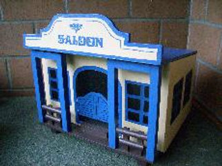Saloon blau