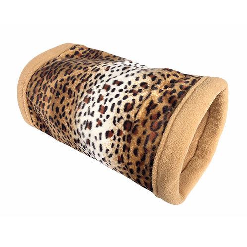 Kuschelröhre Leopard Fellimitat