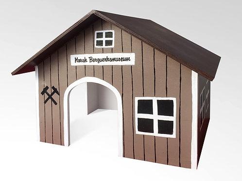 Spitzdach Norwegisches Bergwerkmuseum