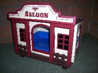 Saloon dunkelrot
