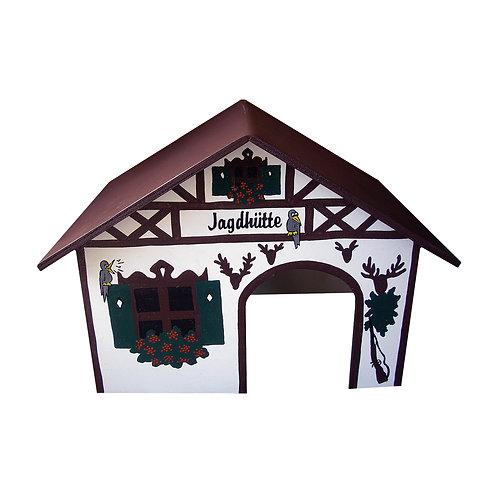 Spitzdach Jagdhütte