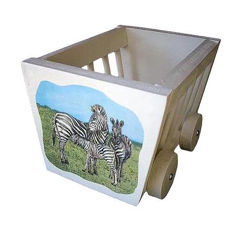 Heuwagen klein - Zebra