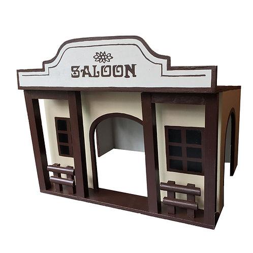 Saloon braun