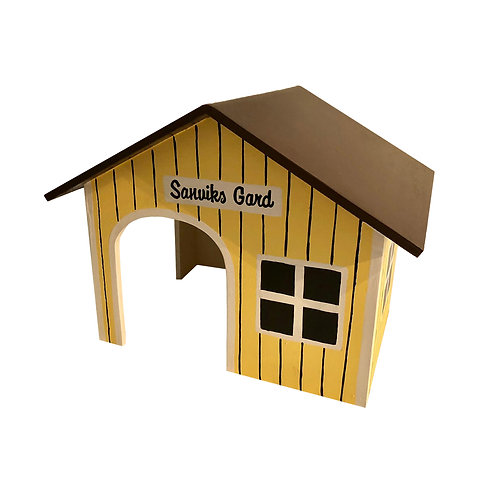 Spitzdach Schwedenhaus Sanviks Gard