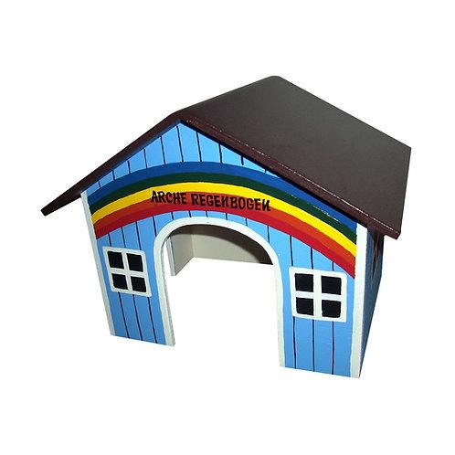 Spitzdach Arche Regenbogen