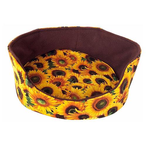 Kuschelbett Sonnenblumen