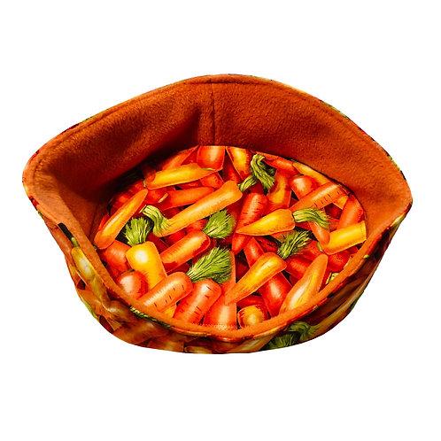 Kuschelbett Karotten