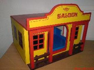 Saloon gelb