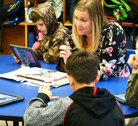Amanda Chavis showcasing personalized learning and station rotation.