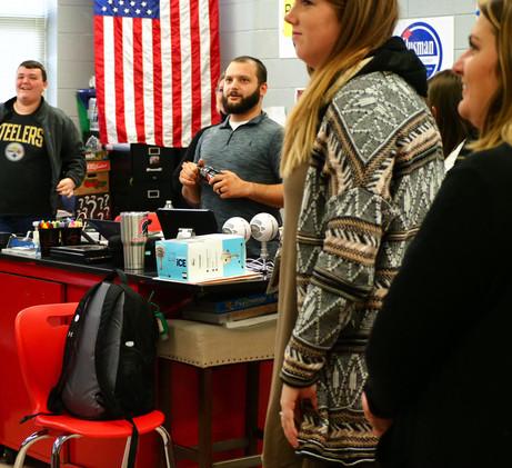 Josh Mullis showcasing innovative classroom culture