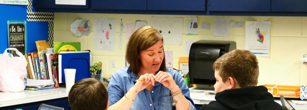Carolyn Okula showcasing guided instruction