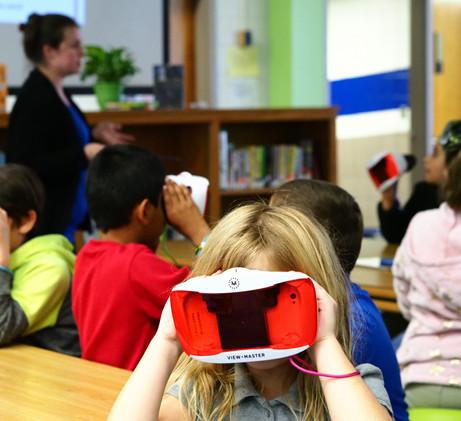 Kelly Crews demonstrating class VR