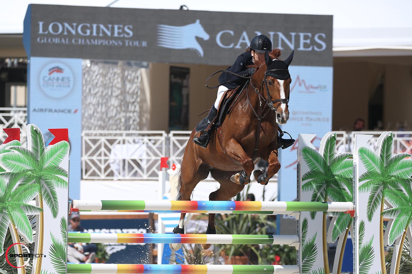 LGCT CANNES 2017_Jacqueline Felber et California de Laubry(c)sportfot
