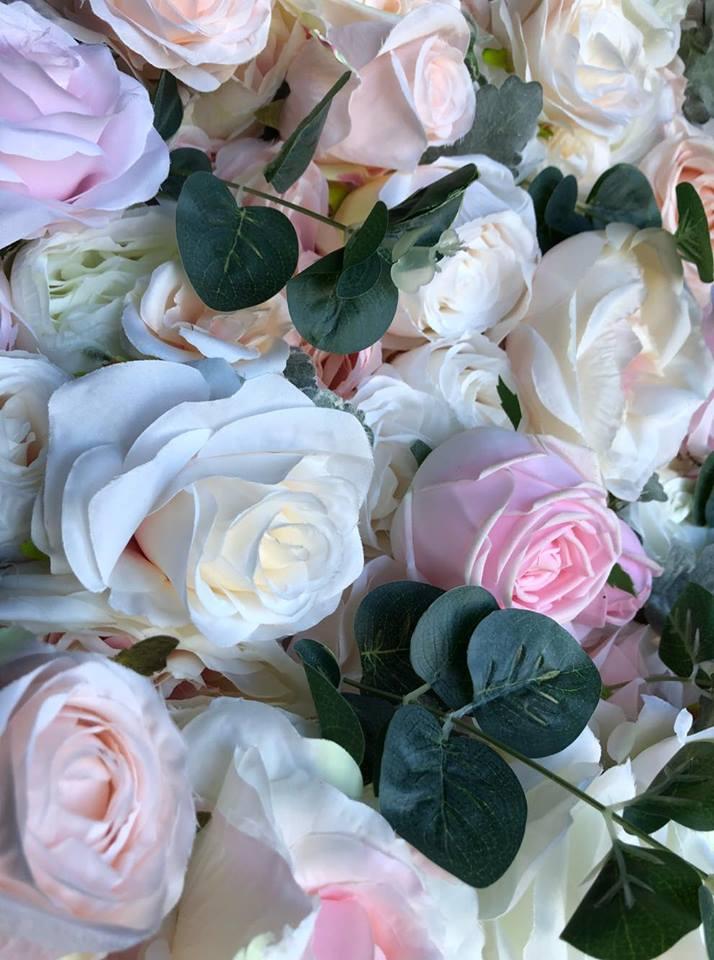 Blushing Blossoms Wall