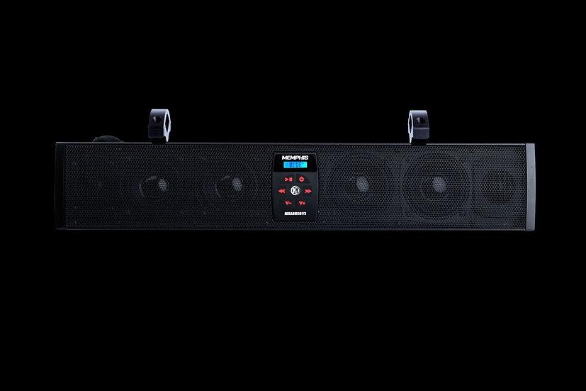 """MXASB20V3 - 20"""" Powersports Soundbar w/ FM"""