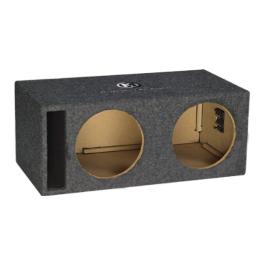"PE2X10V2 - Dual 10"" Unloaded Enclosure"