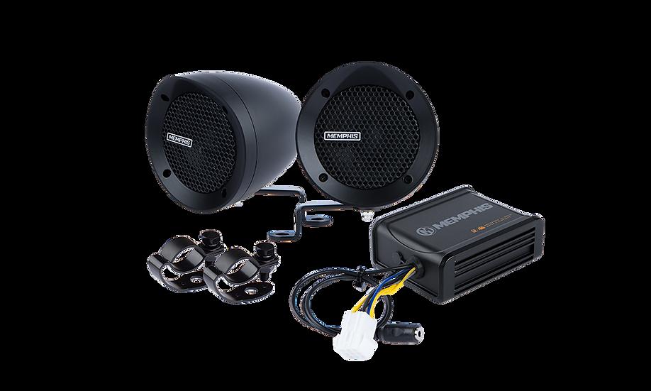 MXABMB2- 2 Black Bullet Style Powersports Speaker Kit