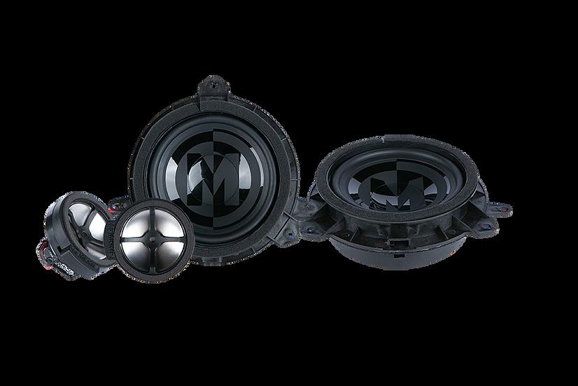"PRXTY60C - 6.5"" Toyota Direct Fit Component Set"