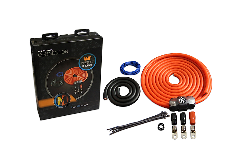 0GPWKIT - 0 AWG Amp Kit Without RCA
