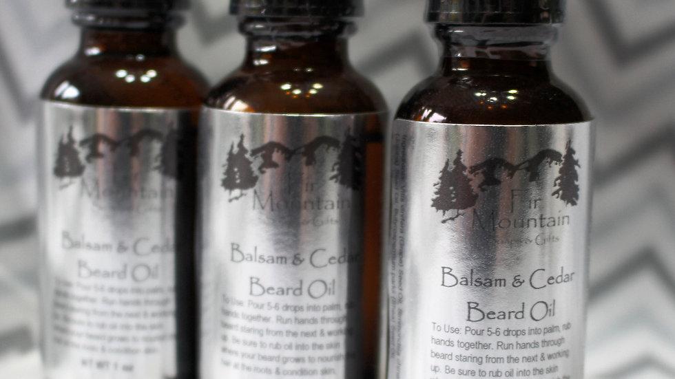Balsam & Cedar Beard Oil