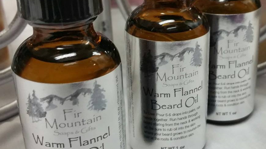Warm Flannel Beard Oil