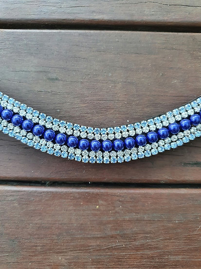 Blue Pearl Browband
