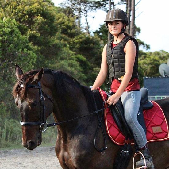 Bodacious Burgundy Saddle Pad