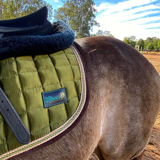 Forest Green Saddle Pad