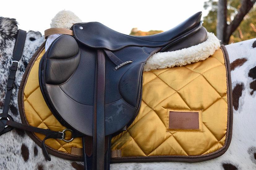Golden Goddess Saddle Pad