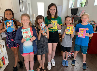 Graphic Novel Camp with Carolyn Cohagan 2019