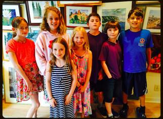 Westlake Kids With Pens Writing Camp
