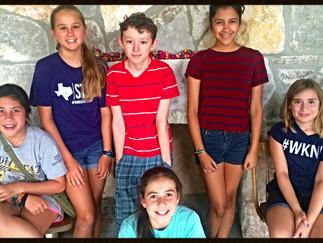 Wimberley Kids With Pens Writing Camp